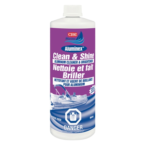 CRC ALUMINEX CLEAN & SHINE 946ml BOTTLE by:  CRC Part No: 76332 - Canada - Canadian Dollars