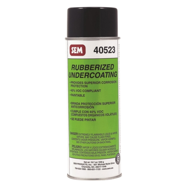 LOW VOC RUBBERIZED UNDERCOATING 24OZ by:  Sem Part No: 40523 - Canada - Canadian Dollars