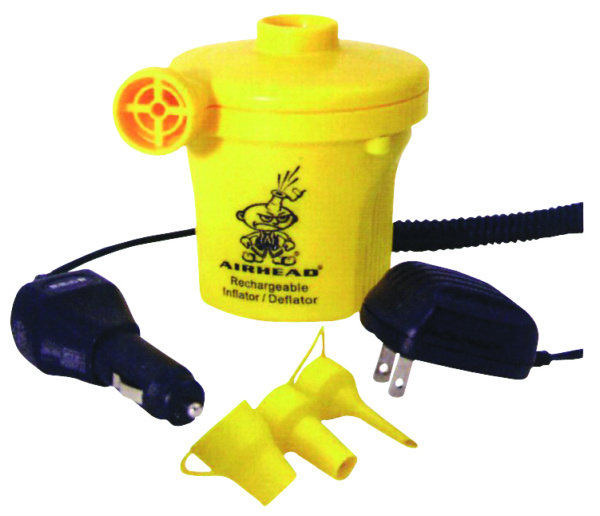 RECHARGEABLE 12V AIR PUMP by:  AirheadSportsstuff Part No: AHP-12R - Canada - Canadian Dollars