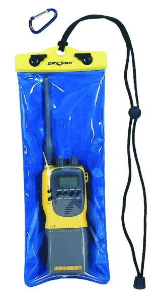 DRY PAK VHF RADIO CASE by:  AirheadSportsstuff Part No: DP-512 - Canada - Canadian Dollars