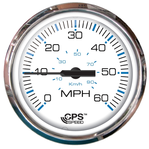 SPEEDOMETER 60 MPH WH by:  Faria Part No: 33839 - Canada - Canadian Dollars