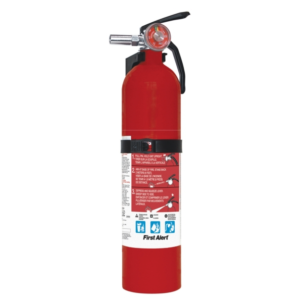 EXTINGUISHER RECHARGEABLE by:  FirstAlert Part No: FE1A10GOA - Canada - Canadian Dollars