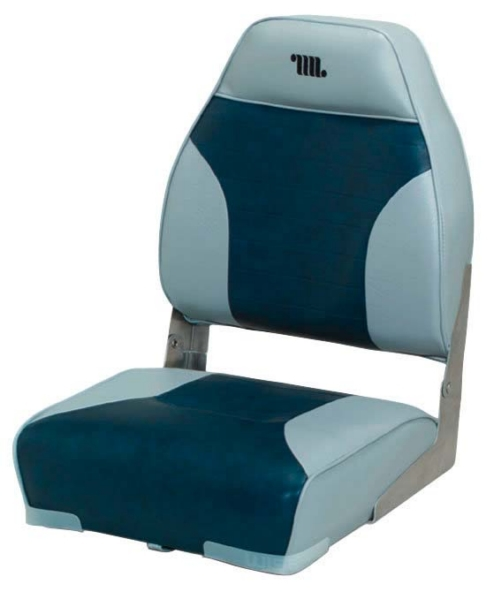 Seat, High Back, Gray/Navy by:  Wise Part No: 8WD588PLS-660 - Canada - Canadian Dollars