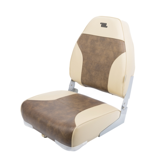 Seat, High Back, Sand/Brown by:  Wise Part No: 8WD588PLS-662 - Canada - Canadian Dollars