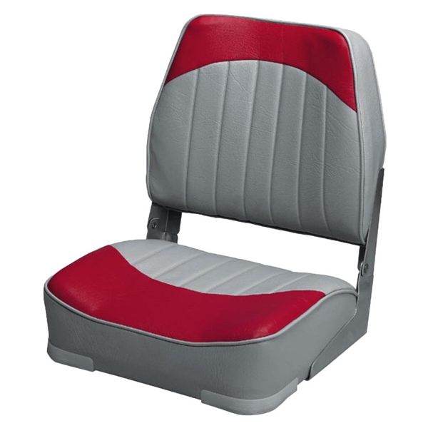 Seat, Fold Down, Gray/Red by:  Wise Part No: 8WD734PLS-661 - Canada - Canadian Dollars