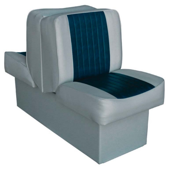 DELUXE LOUNDGE SEAT GREY/BLUE by:  Wise Part No: 8WD707P-1-660 - Canada - Canadian Dollars