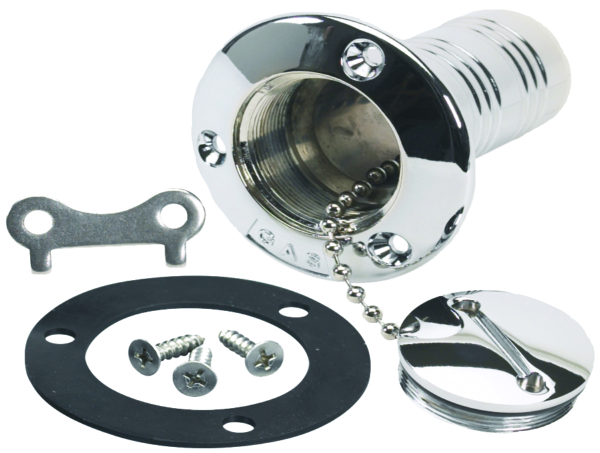 DECK PLATE FILL 1-1/2in FOR GASOLINE by:  Scepter Part No: 7195 - Canada - Canadian Dollars