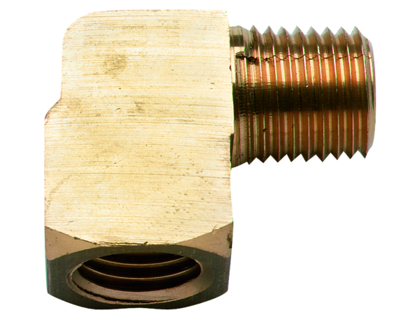 ELBOW MALE/FEMALE 1/4in NPT BRASS by:  Scepter Part No: 7212 - Canada - Canadian Dollars