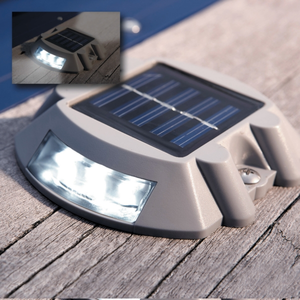 SOLAR DOCK & DECK LIGHT by:  DockEdge Part No: 96-255-F - Canada - Canadian Dollars