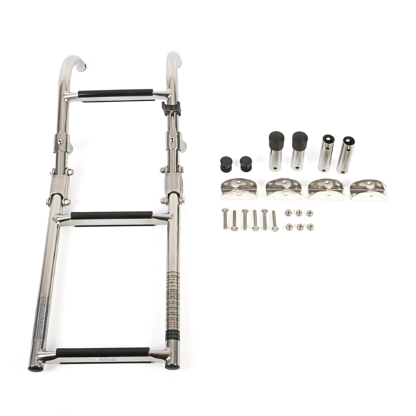 5-step Folding pontoon ladder by:  Boatersports Part No: ASC-5 - Canada - Canadian Dollars