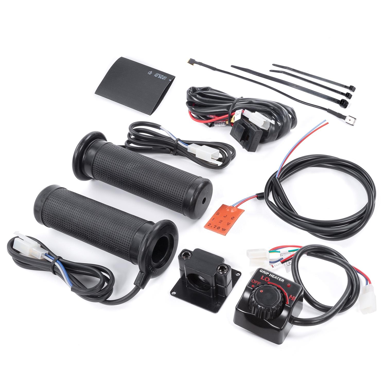 Atv Heated Grips Kimpex Canada Quadboss Winch Wiring Diagram Handlebar Grip Heater And Thumb Warmer Kit 937160