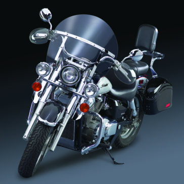 NATIONAL CYCLE Switchblade Chopped (Chopped Screen) Windshield Front - Suzuki - Polycarbonate