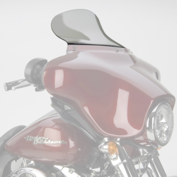 NATIONAL CYCLE VStream Aeroacoustic Windshield Front - Harley-Davidson - Polycarbonate