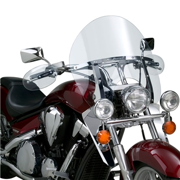 National Cycle Switchblade (Chopped) Windshield Front - Honda, Suzuki, Yamaha, Triumph, Victory - Polycarbonate