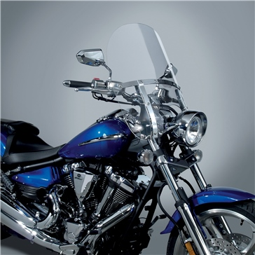 National Cycle Pare-brise SwitchBlade 2-Up Avant - Honda, Suzuki, Yamaha, Triumph, Victory - Polycarbonate