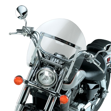 NATIONAL CYCLE SwitchBlade Shorty Windshield Front - Honda - Acrylic Plastic