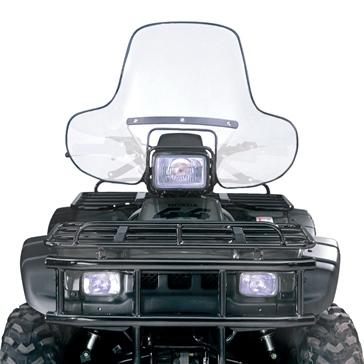 NATIONAL CYCLE ATV Windshield Front - Honda, Polaris - Lexan Polycarbonate