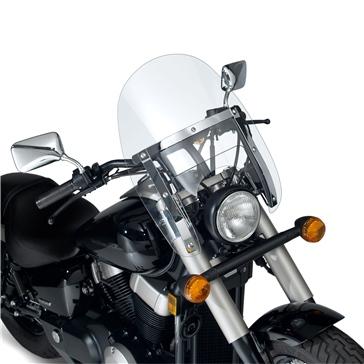 National Cycle Ranger HD Windshield Front - Honda, Kawasaki, Suzuki, Yamaha, Harley-Davidson, Victory - Polycarbonate