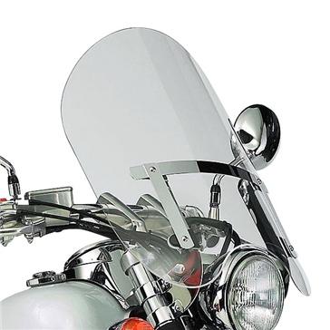National Cycle Dakota 3.0 Windshield Fits Honda, Fits Kawasaki, Fits Suzuki, Fits Yamaha, Fits Harley-Davidson