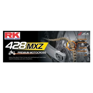 RK EXCEL Drive Chain - GB428MXZ Heavy Duty