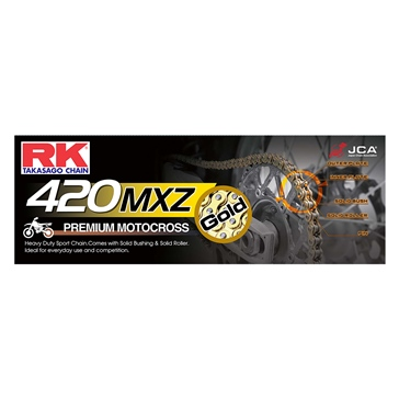 RK EXCEL Drive Chain - GB420MXZ Heavy Duty