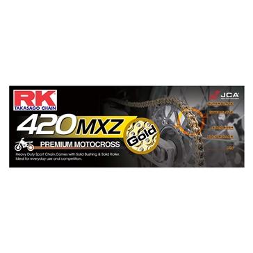 RK EXCEL Drive Chain - 420MXZ Heavy Duty