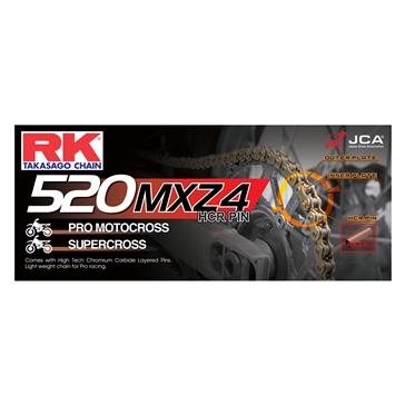 RK EXCEL Chaîne d'entraînement - 520MXZ4 Chaîne d'haute résistance