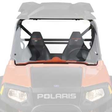 NATIONAL CYCLE Full UTV Windshield Front - Polaris - Polycarbonate