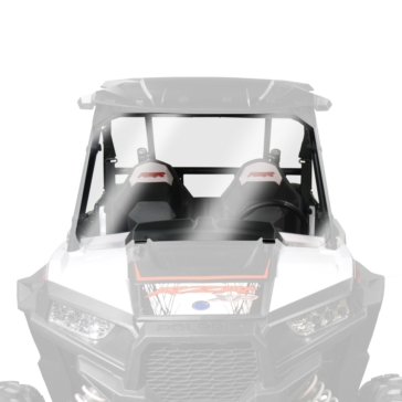 Front - Fixed, Full NATIONAL CYCLE Full UTV Windshield