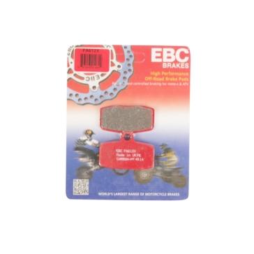 EBC  Plaquette de frein en carbone Série «X» Graphite de carbone - Avant