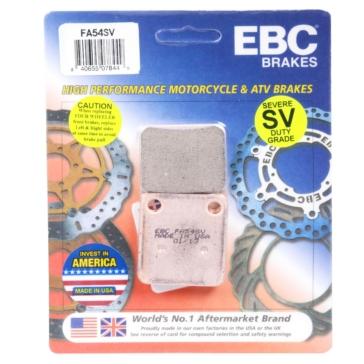 Plaquette de frein Série SV - Severe Duty EBC  Semi métallique