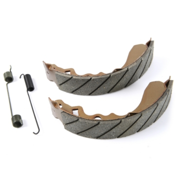 """EBC  """"G"""" Grooved Brake Shoes Carbon graphite - Front"""