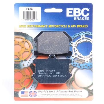 EBC  Organic Brake Pad Organic - Front/Rear