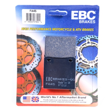 EBC  Organic Brake Pad Organic - Front