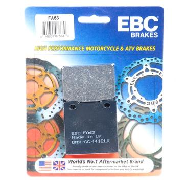 EBC  Plaquette de frein organique Organique - Arrière