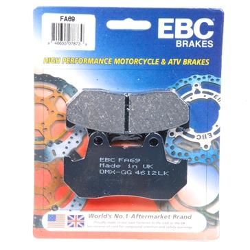 EBC  Plaquette de frein organique Organique - Avant