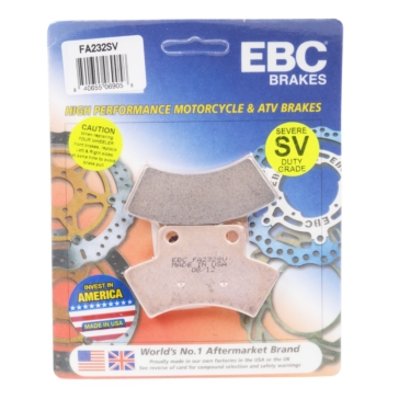 Sintered Metal Pads EBC  SV Severe Duty Brake Pad