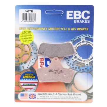 "EBC  ""R"" Long Life Sintered Brake Pad Semi Metallic - Front/Rear"