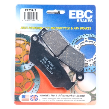 "Organic EBC  ""X"" Series Moto-X Sport & Enduro Brake Pad"