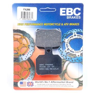 EBC  Organic Brake Pad Organic - Rear