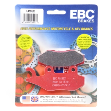 "EBC  ""X"" Carbon Graphite Brake Pad Carbon graphite - Front/Rear"