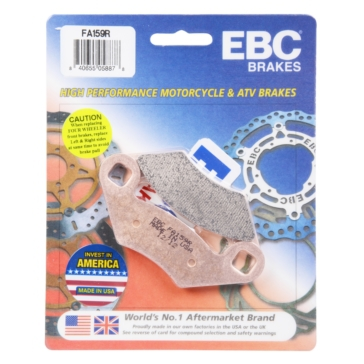 "EBC  ""R"" Long Life Sintered Brake Pad Sintered metal - Front/Rear"