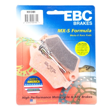 EBC  « MXS » Moto-X Race Brake Pad Sintered metal - Front