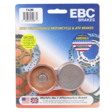 "EBC  ""R"" Long Life Sintered Brake Pad Long life Sintered Metal - Rear"