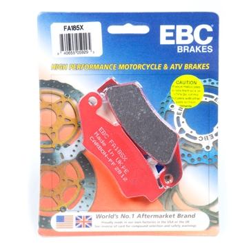 EBC  Plaquette en graphite de carbone Série «X» Organique - Avant