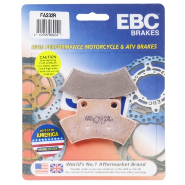 "Long life Sintered Metal EBC  ""R"" Long Life Sintered Brake Pad"
