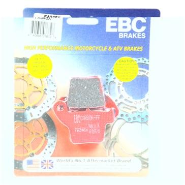 EBC  Plaquette de frein en carbone Série «X» Graphite de carbone - Arrière