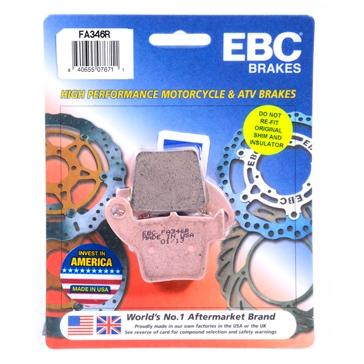 EBC  Plaquette de frein en métal fritté Série «R» - Longue durée Métal fritté - Arrière
