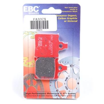 "EBC  ""X"" Series Moto-X Sport & Enduro Brake Pad Carbon graphite - Rear"