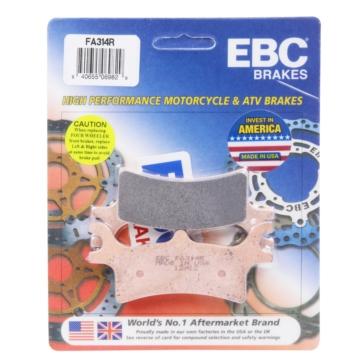 """EBC  """"R"""" Long Life Sintered Brake Pad Long life Sintered Metal - Rear"""